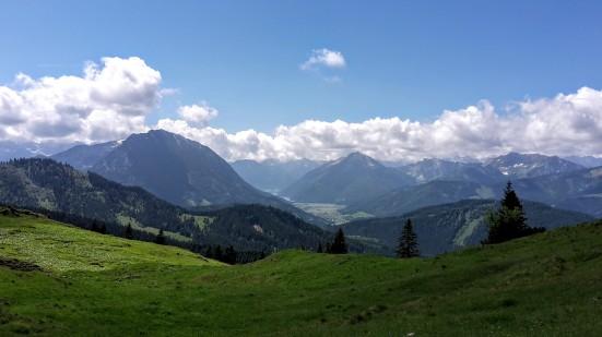 Panoramablick ins Tiroler Achental