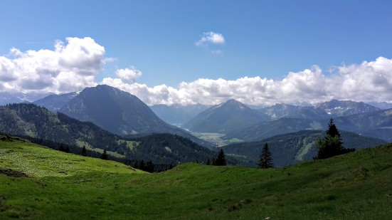 Panoramablick ins Tiroler Achental