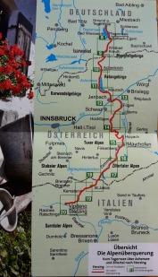 Route Alpenüberquerung