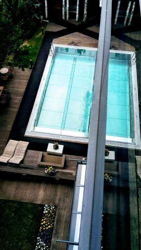 Pool-Position vom Skyloft
