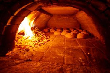 Brotbacken im Klaushof
