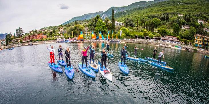 Start der ExploreLakeGarda-Tour in der Bucht Val Di Sogno (c) Andy Klotz / FotobyKlotzi.de