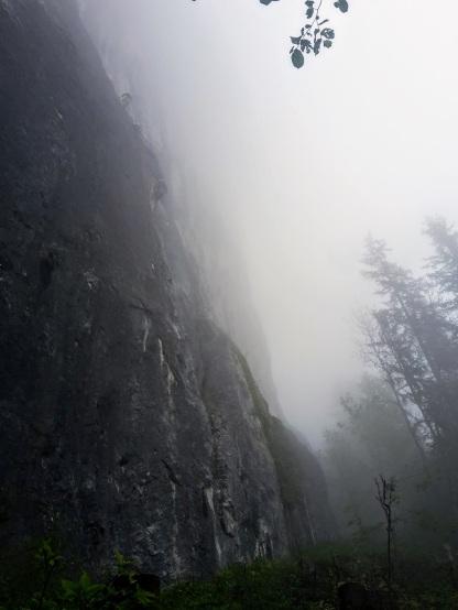 Wer findet den Kletterer?