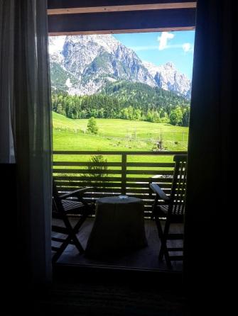 Panorama-Blick vom Bett aus