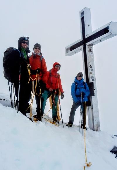 Schnelles Gipfel-Foto