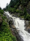Gletscherbach-Wasserkraft