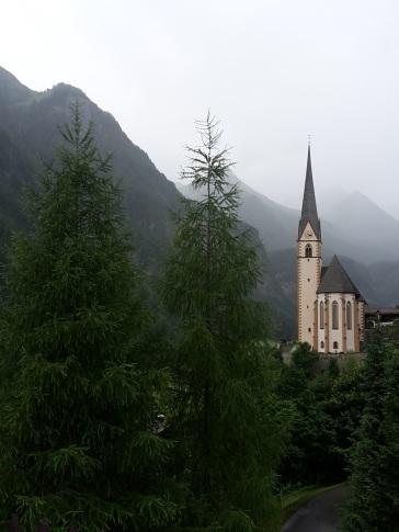 Regen in Heiligenblut