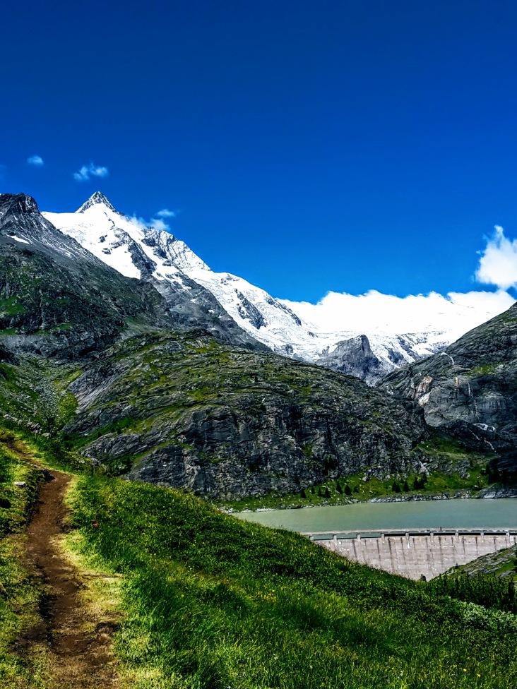 Trail mit Glocki & Stausee Blick