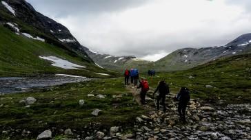 Auf dem Weg zum Tjäktja-Pass