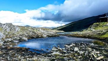 Der höchste Punkt des FRC & des Kungsleden: 1140m