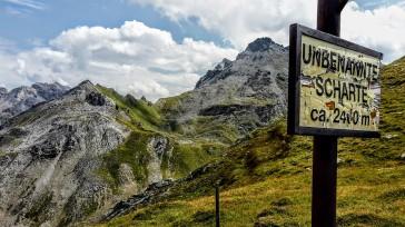 Die unbenannte Scharte heißt ab jetzt Bergseensucht-Scharte