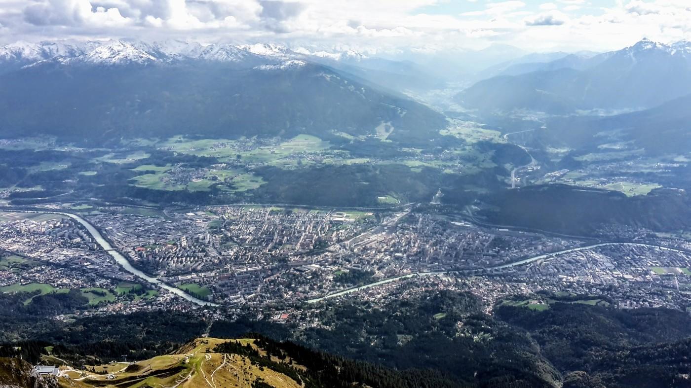 Klettersteig Innsbruck Umgebung : Innsbrucker panorama klettersteig u2013 hannes gasser route teil 1 kat