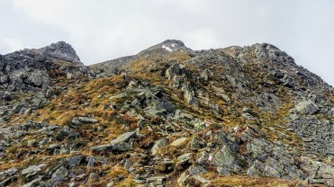 Bis 2500m kein Schnee beim Aufstieg