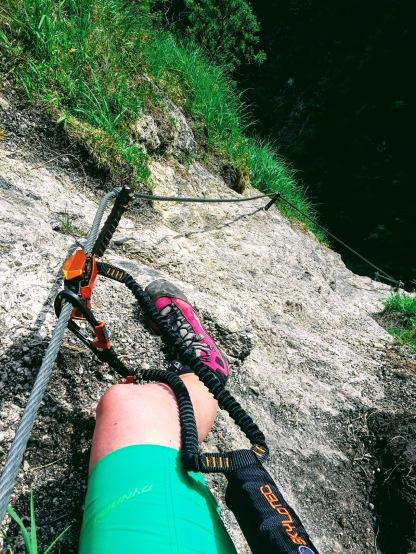 Hausbachfall Klettersteig
