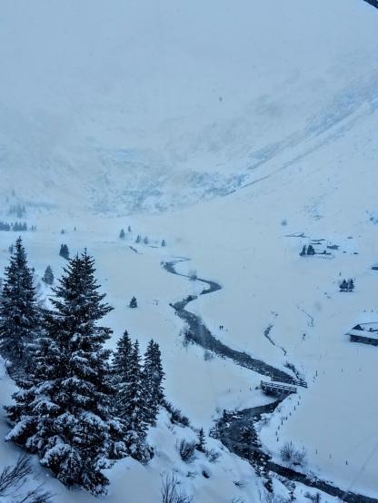 Gondel-Auffahrt im Winterwunderland Sportgastein