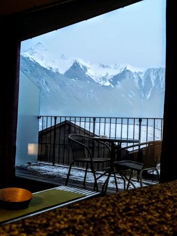 Zimmer mit Ausblick im Hotel Neutwirt (Adlersuite 306)
