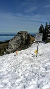 Ja, es liegt noch einiges an Schnee oben