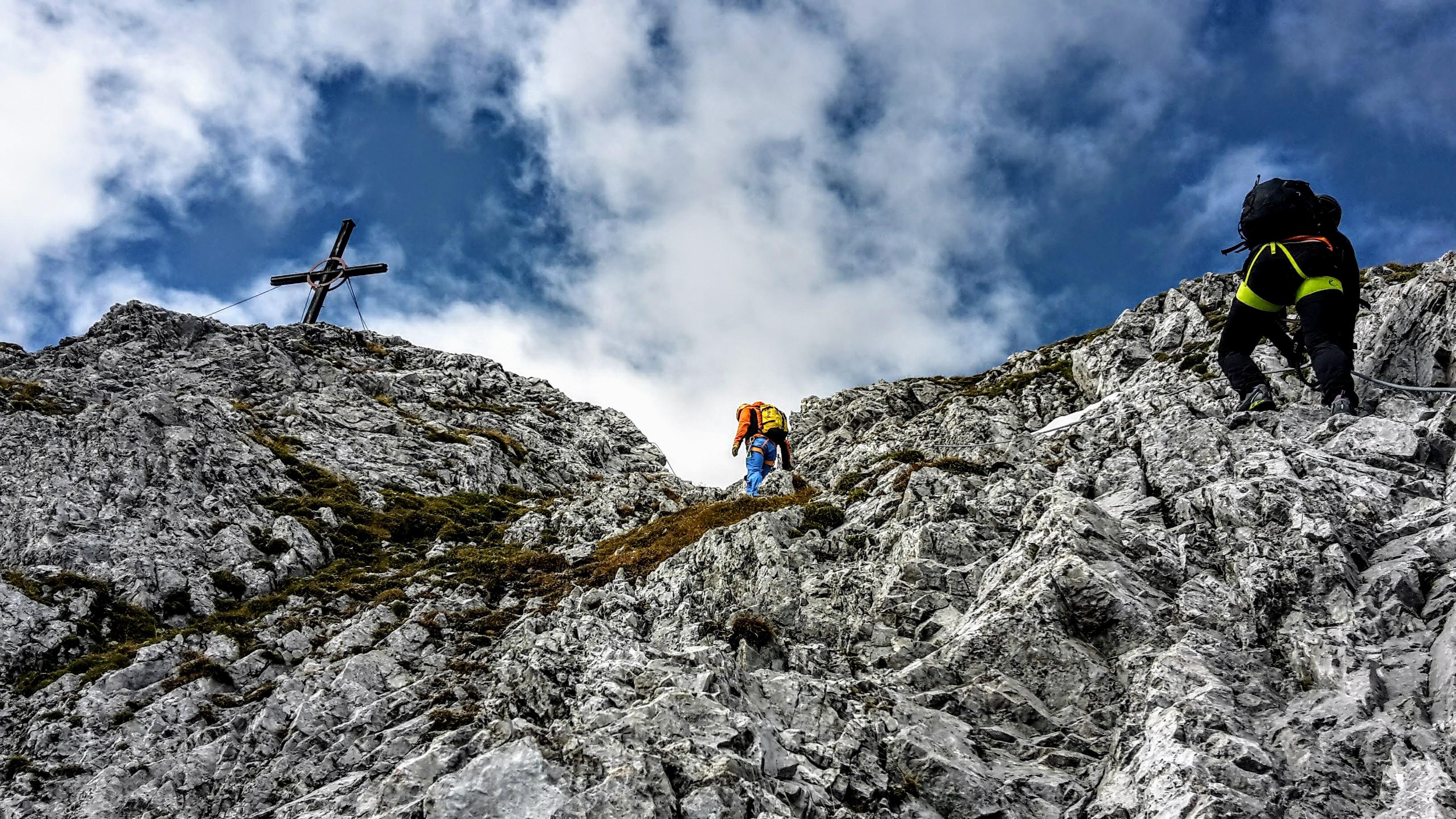 Klettersteig Für Anfänger : Drachenwand klettersteig in st lorenz mondsee
