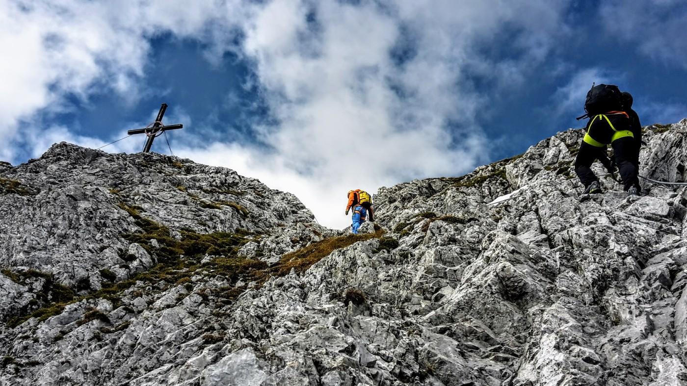 Klettersteigset Mit Seilklemme : Klettersteig gehen u2013 die besten tipps für anfänger bergseensucht