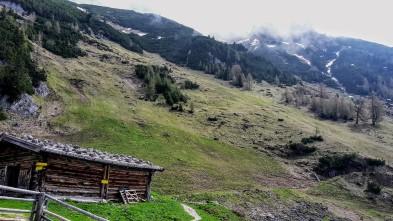 Weg Nr. 413 Dalfaz Alm-Erfurter Hütte