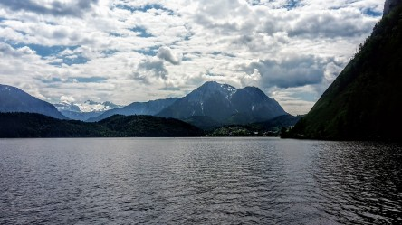 Allein am Altausseer See