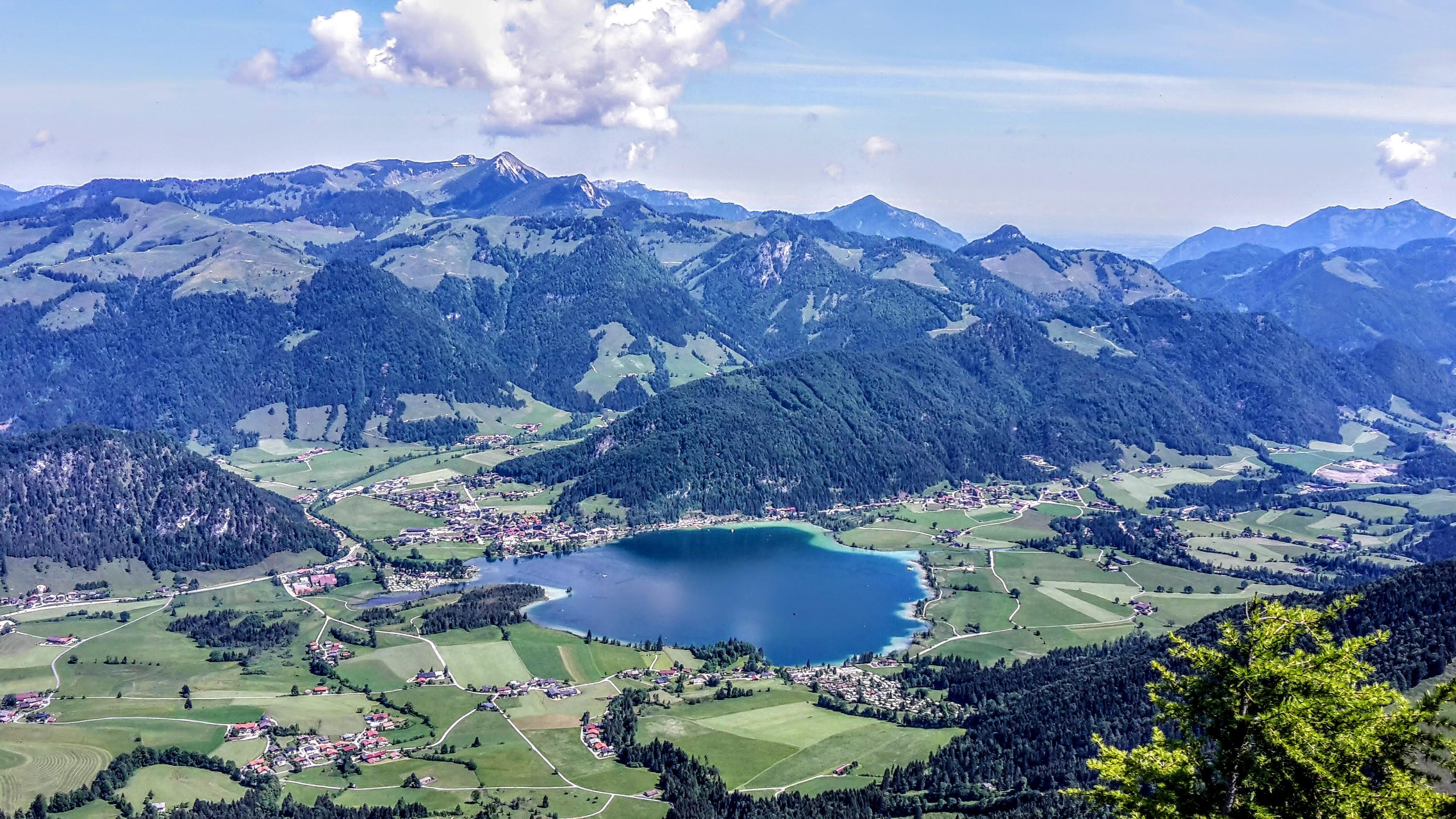 Klettersteig Walchsee : Wandern im kaiserwinkl heuberg m walchsee u bergseensucht