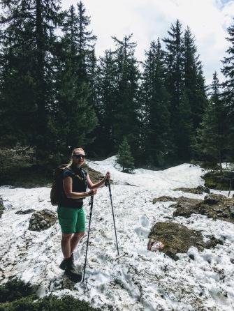 Die letzten Schneereste erfolgreich gefunden