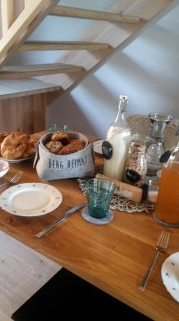 Frühstücken im Alpegg