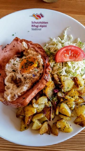 Bergsteiger-Essen deluxe - mit getrockneten Blüten!