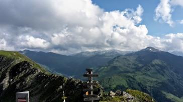 Kellerjochhütte: Penne mit Aussicht