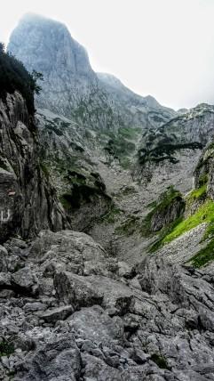 ...wird zu alpinen Grau