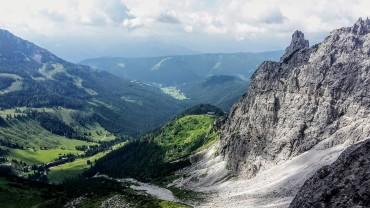 Blick ins Salzburger Land & zur Hofpürglhütte