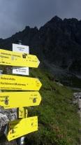 Li zur Hofpürgl, re Ri Dachstein