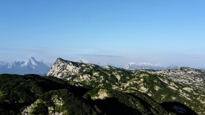 Blick zum Berchtesgadener Hochthron - Watzmann & Stoaberge