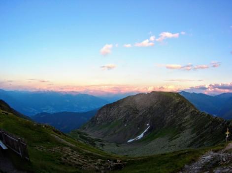 Pastell-Himmel übern Zillertal