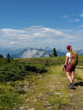Blick auf die Lechtaler Alpen