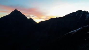 Kurz vorm Sonnenaufgang...