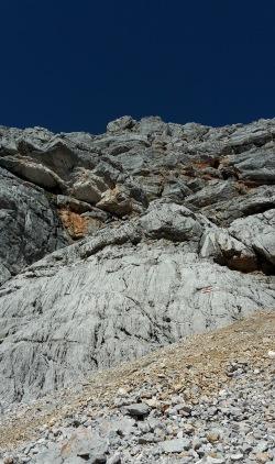 Klettersteig durch die Südwand