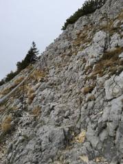 Felsiger Aufstieg zum Ahornkogel