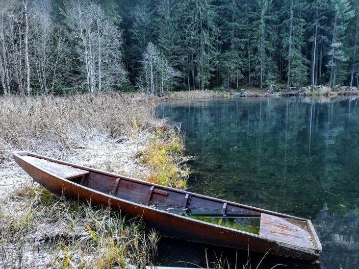 Fische-Boot statt Fischerboot