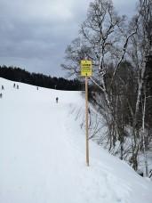 Bitte folgen: Loser Skitouren Aufstiegsweg