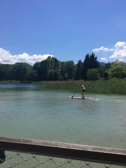 Back on SUP am Tegernsee