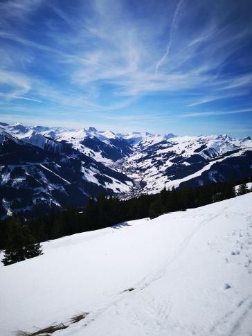 Abfahrt nach Saalbach