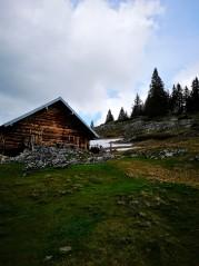 Hütte auf den Vormaueralmen