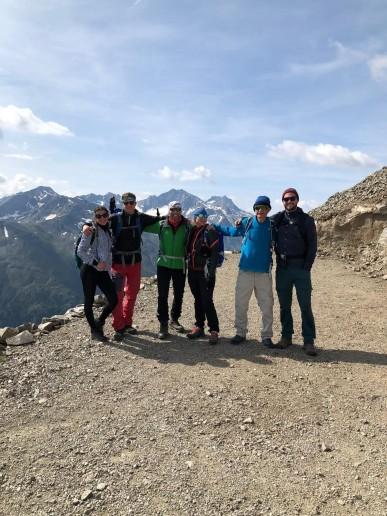 Monte de Rezze 2958m (ja, geht mit Zustiegsschuhen)