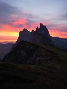 Dolomiten Morgenrot