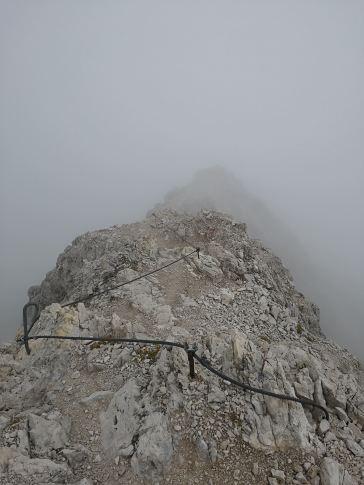 Abstieg zur Südspitze