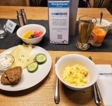Mein typisches Berg-Frühstück