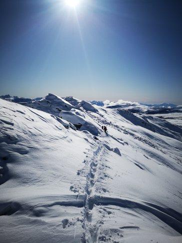 Winterwunderland Sarntaler Alpen