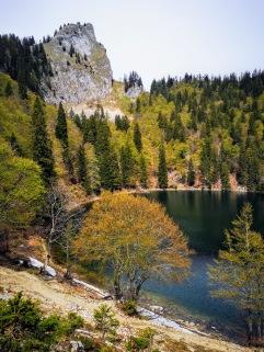 Mönichsee auf 1300m